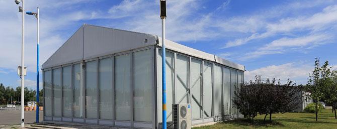 100平米全落地玻璃劳斯伯格篷房,提供图片